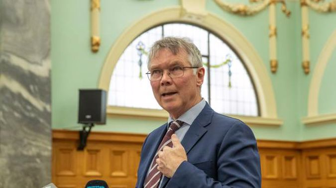 """Environment Minister David Parker warned National against using the """"gone by lunchtime"""" phrase. Photo / Mark Mitchell"""
