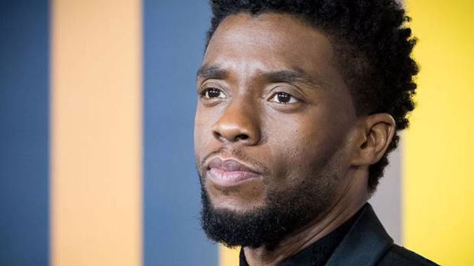 Chadwick Boseman attends the European Premiere of 'Black Panther' in 2018 in London. Photo / Getty Images