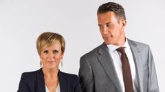 Hilary Barry and Jeremy Wells, hosts of Seven Sharp. (Photo / Supplied)