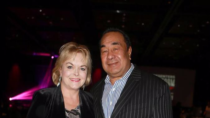 Judith Collins has joked she can't get David Wong Tung, her husband for 40+ years, to do anything she suggests. Photo / Norrie Montgomery.