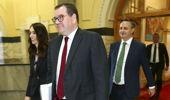 Jacinda Ardern, Grant Robertson and James Shaw. (Photo / File)