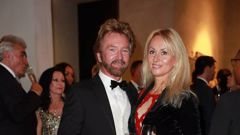 Noel Edmonds and wife Liz Davies. Photo / Norrie Montgomery