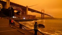 San Francisco resembles Mars as wildfires continue to rage