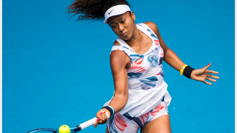 Brian Clark: Osaka looks very comfortable in finding her voice now