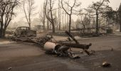 Talent, Oregon which has been devastated by wildfires. (Photo / Getty)
