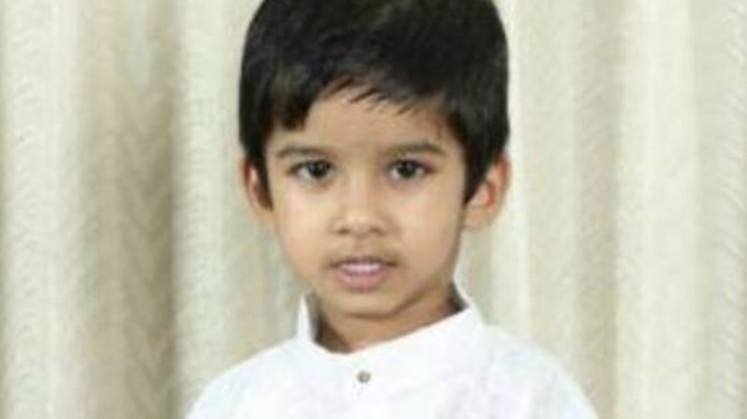 Aldrich Viju died in an accident at the Angels Childcare Centre in Takapuna. Photo / Supplied