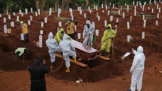 Covid-19: Anti-maskers forced to dig graves for virus victims in Indonesia