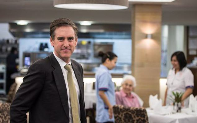 Earl Gasparich of Oceania Healthcare. (Photo / NZ Herald)