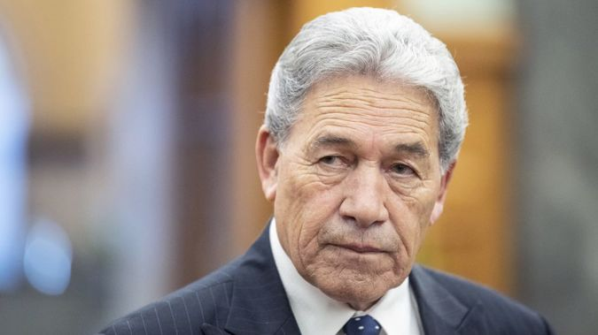 Winston Peters. (Photo / Getty)