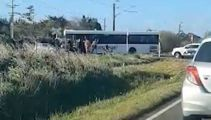 Train crash tragedy: School bus driver killed, students hospitalised