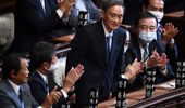 Yoshihide Suga officially named as Japan's new Prime Minister, replacing Shinzo Abe. (Photo / Getty)
