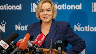 Judith Collins promises 'massive' temporary tax cuts in National's economic plan