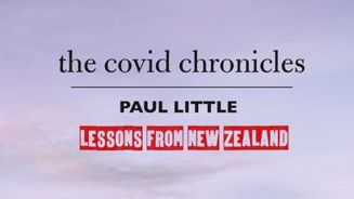 Paul Little on his groundbreaking new book The Covid Chronicles