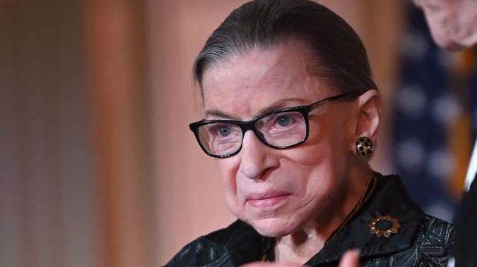 Supreme Court Justice Ruth Bader Ginsburg has died at age 87. Photo / Getty Images