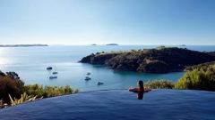 Waiheke Island is one of Auckland Council's 21 local boards. NZ Herald photo 23Aug20