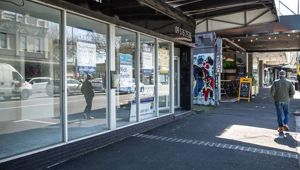 Empty retail stores are growing in Auckland city suburb Ponsonby. Photo / Greg Bowker