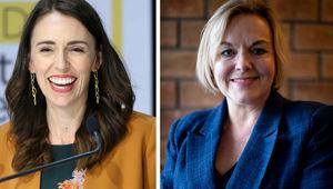 Jacinda Ardern and Judith Collins. (Photo / NZ Herald)