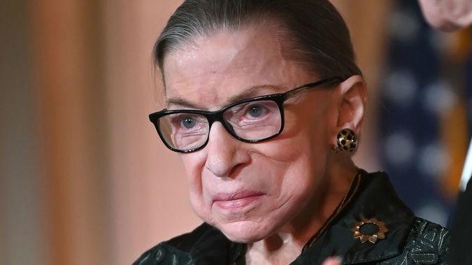 Ruth Bader Ginsberg. (Photo / Getty)