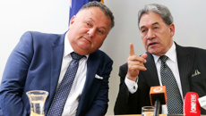 Winston Peters and Peter Dunne on Shane Jones' comments on Northland