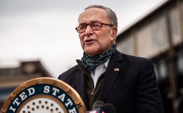 """Minority Leader Chuck Schumer warned that """"nothing is off the table"""" if a Trump nominee is confirmed this election year."""