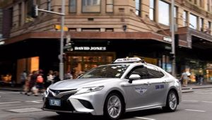 Health authorities are on the hunt for passengers after a taxi driver worked eight days while infectious. Picture: NCA NewsWire/Bianca De MarchiSource:News Corp Australia