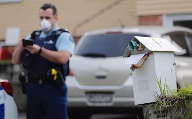 Police at a house on William Ave, Manurewa, Auckland, where the death of a baby was discovered earlier this month. Photo / Dean Purcell