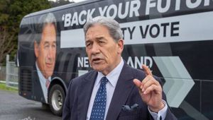Deputy Prime Minister Winston Peters. (Photo / Mark Mitchell)