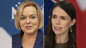 Judith Collins and Jacinda Ardern. (Photo / NZ Herald)