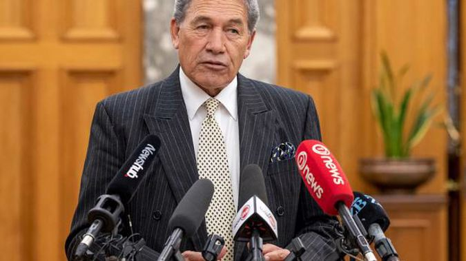 Winston Peters. (Photo / NZ Herald)