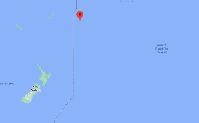 Niue is currently just on the other side of the International Day Line. (Photo / Google)
