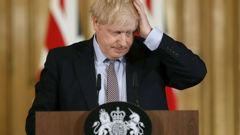 UK PM Boris Johnson. (Photo / AP)