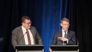 Robertson and Goldsmith trade blows over money matters and fiscal holes