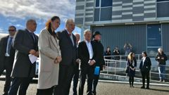 Labour Party leader Jacinda Ardern has been challenged not to dissolve the West Coast DHB as she took her campaign to Greymouth today.
