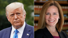 Donald Trump selects Amy Coney Barrett for the US Supreme Court