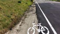 Partly-sealed Christchurch cycle lane labelled 'ridiculous'
