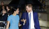 Prince Harry and Meghan Markle. (Photo / AP)