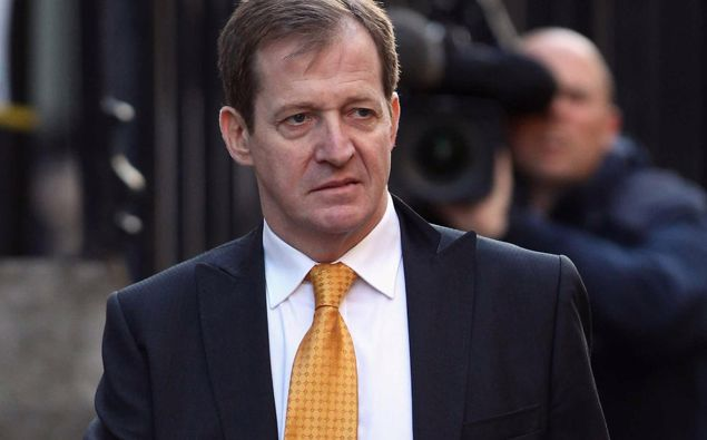 Alastair Campbell. Photo / Getty Images