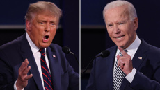 Live: Donald Trump and Joe Biden to go head to head in first debate
