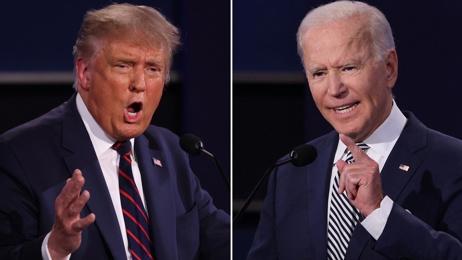 Live: Donald Trump and Joe Biden to go head to head in first debate