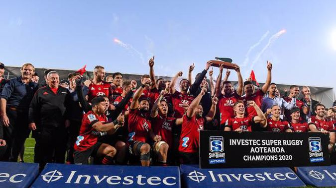 The Crusaders took out the Super Rugby Aotearoa title this year. Photo / Photosport