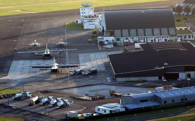 Should the Government use facilities like the Ōhakea Airbase? (Photo / NZ Herald)