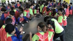 Ormiston Primary School students have been learning in the next-door Ormiston Junior College because there is no space for them in the primary school. Photo / Supplied