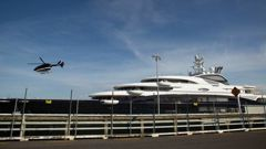 The first superyacht to dock at a new quarantine berth on Auckland's Queens Wharf will arrive in the City of Sails today. Photo / File