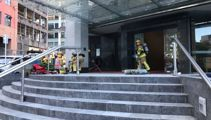 Fire and Emergency at a 12-storey building in Auckland's CBD