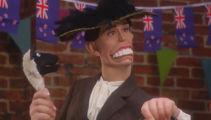 Watch: Jacinda Ardern's Spitting Image puppet takes swipe at coronavirus