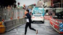 While many of us might not know it, jaywalking is a crime in New Zealand. Photo / Dean Purcell