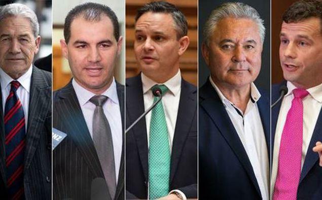 Winston Peters, Jami-Lee Ross, James Shaw, John Tamihere and David Seymour face off tonight in the leaders' debate.
