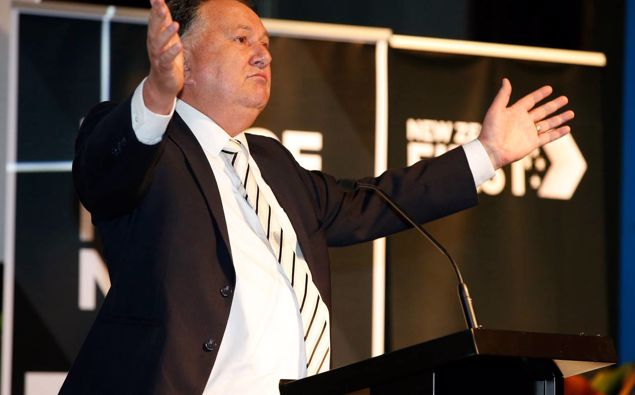 Regional Economic Development Minister Shane Jones, of NZ First, has defended the spending, saying the economy does not stand still even if there is an election. Photo / Michael Cunningham