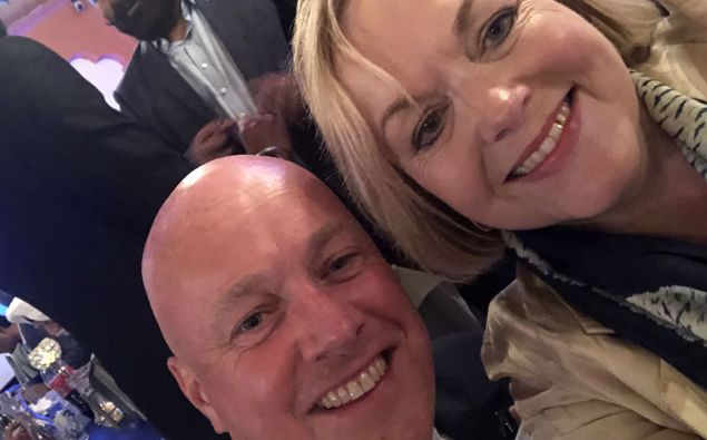 Chris Luxon and Judith Collins. (Photo / Judith Collins' Twitter)