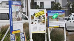 The Reserve Bank Governor expects house price growth to fall to almost zero. (Photo / Chris Loufte)